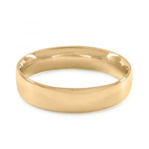 Alianza TESSARA LUNA NUEVA, oro amarillo, oro blanco y oro rosa, sección marquise 4,5mm de ancho por 1,3mm de grueso